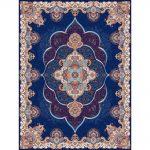 Panez orientalisk matta - mörkblå