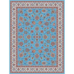 Mashahir orientalisk matta - ljusblå