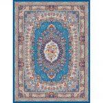 Malakeh orientalisk matta - ljusblå