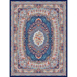 Malakeh orientalisk matta - mörkblå