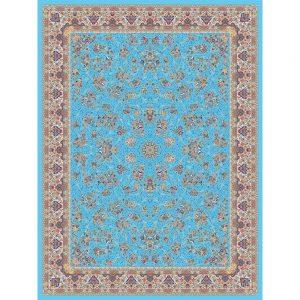 Zanbagh orientalisk matta - ljusblå