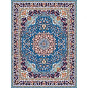 Saghar orientalisk matta - ljusblå