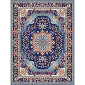 Saghar orientalisk matta - mörkblå