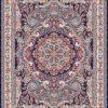 Hasti persisk matta - Mörkblå