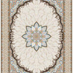 Mahriz persisk matta - Cream
