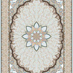 Mahriz persisk matta - Silver