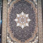 Mahriz persisk matta - Brun