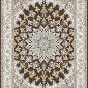 Spear persisk matta - Brun