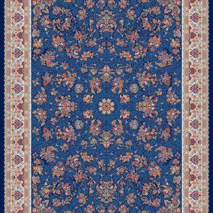 Zanbagh persisk matta - Mörkblå