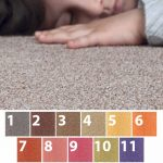 Bolour Moquette matta i 11 färger
