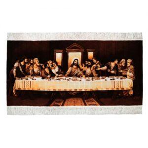 Persisk Handknuten Silkesmatta 132x62 (Signatur Sham Axer)
